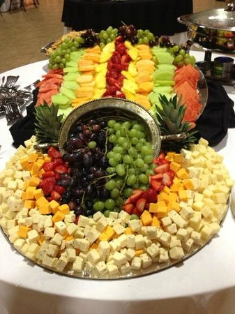 Fruit And Cheese Display Catering Picture Of Char