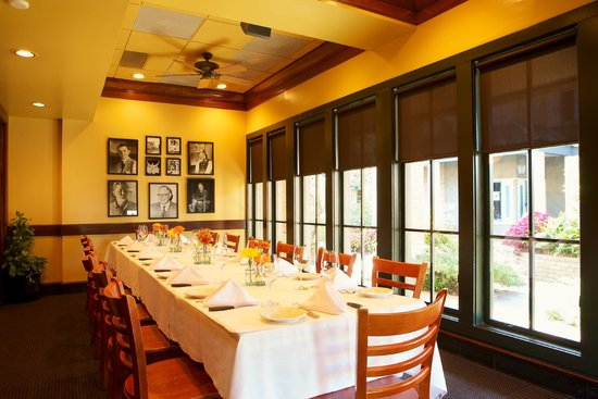 Char Restaurant: Private dining room