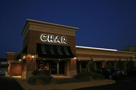 Char Restaurant: Outside view of restaurant