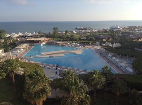 Hotel Riu Kaya Belek: view from balcony