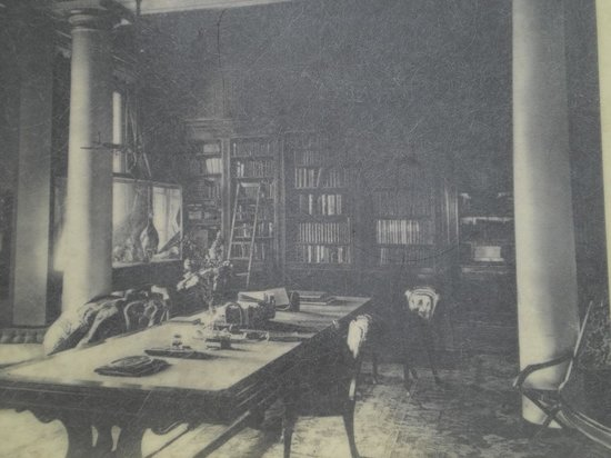 Appuldurcombe House: Library 100 years ago