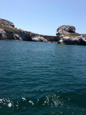 Marietas Islands : Marietas island from the boat