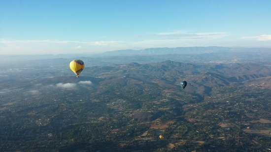 Sky's the Limit Ballooning Adventures: San Diego county at its finest