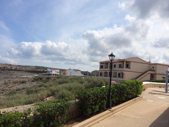 Apartamentos Solvasa Cabo de Banos: Vistas desde el apartamento