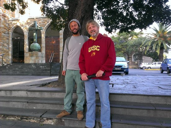 Cape Town Free Walking Tours: Tour guide (left)