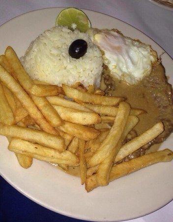 Restaurant Luanda: Bife a casa
