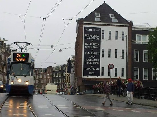 Sir Albert Hotel Amsterdam: The building