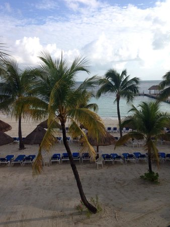 The Royal Cancun All Suites Resort: Minha vista do quarto !