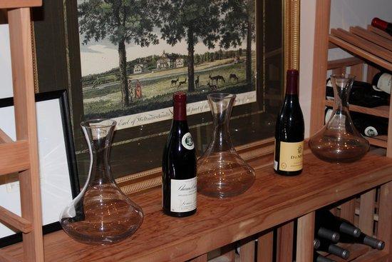 Carnegie Inn & Spa: Wine cellar