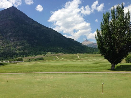 Waterton Lakes Golf Course from the Clubhouse Deck