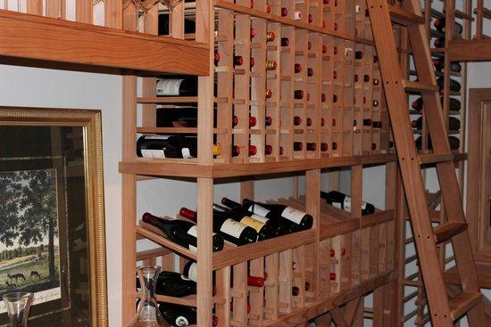 Carnegie Inn & Spa: Award winning Wine Cellar