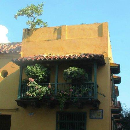 Plaza de San Diego : balcon para admirar el paruqe