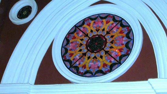 Plaza de San Diego: Vitral en Bellas artes