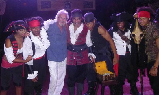 Ocean Adventures - Caribbean Buccaneers Dinner Show: Always be yourself.  Unless you can be a Pirate.  Then, be a Pirate.