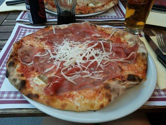 Pizzeria Il Ciocco: pizza 1