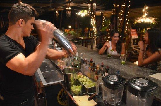 KOKi Beach Restaurant & Bar: Full bar & happy hour 5-7PM