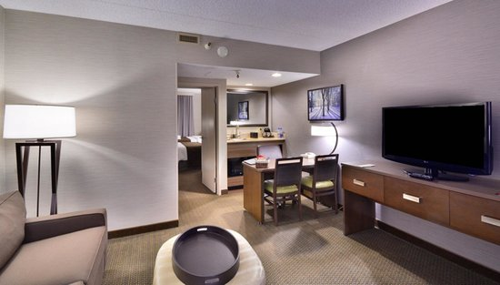 Embassy Suites by Hilton Denver Stapleton : Seating Area in Room