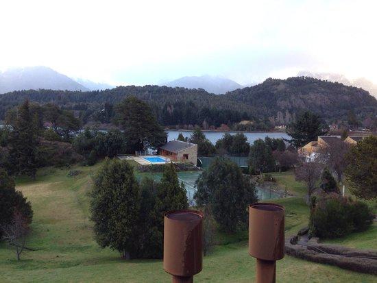 Club Hotel Dut Bariloche: Foto desde una habitación del bloque 1