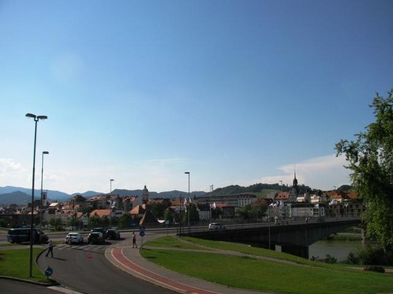 Europark Maribor: View from the Cafe over Maribor