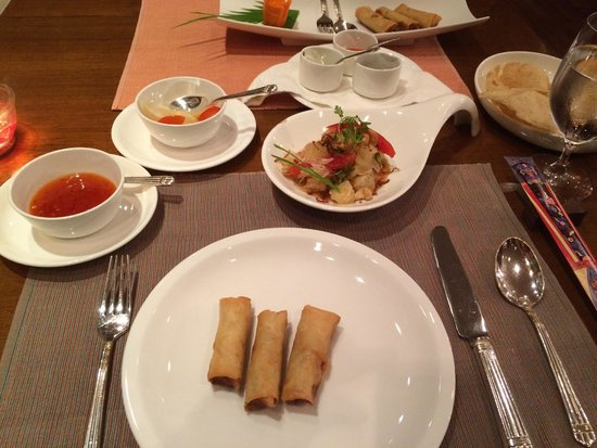 The Oberoi Grand: Great Thay restaurant at Oberoi