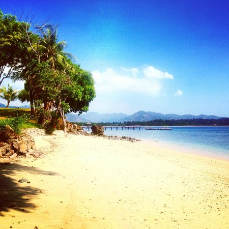 The Oberoi, Lombok: The beach at the Oberoi