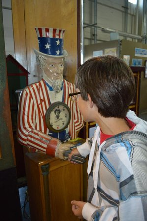 Musee Mecanique : Uncle Sam