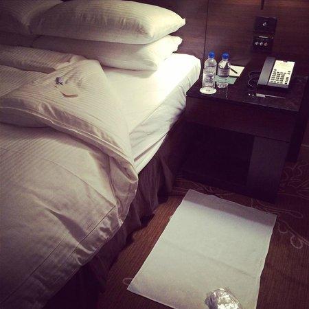 Shangri-La Hotel Sydney : turndown service