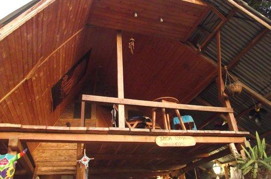 Casa Loma Minca: Vista habitación desde primer piso.