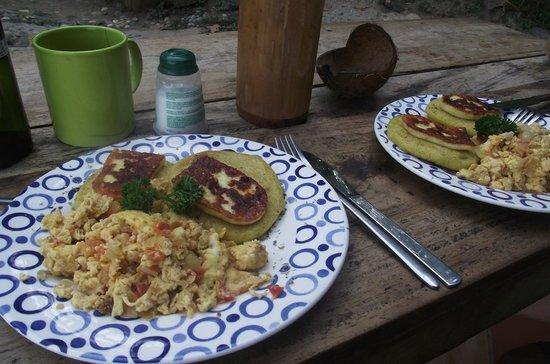 Casa Loma Minca: Desayuno.