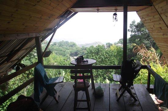 Casa Loma Minca: Terraza habitación doble.