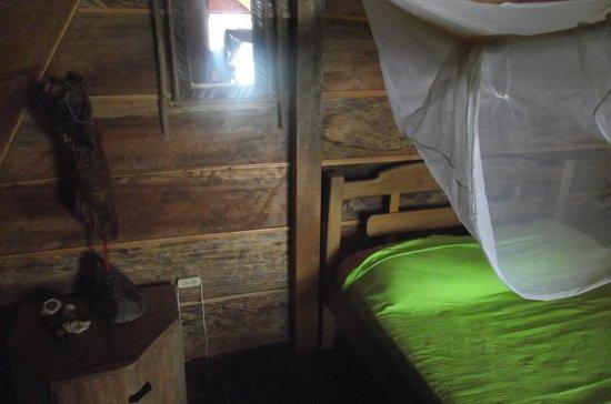 Casa Loma Minca: Habitación doble privada.