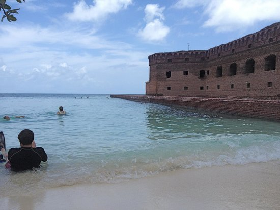 Fort Jefferson: A swimming hole