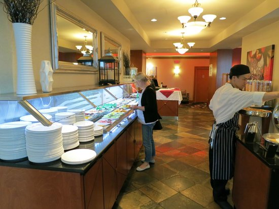 Hilton Vancouver Metrotown: Breakfast buffet - Reflect dining room