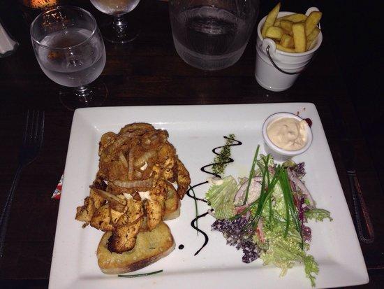 Keogh's of Kinvara Bar & Restaurant : Chicken ciabatta