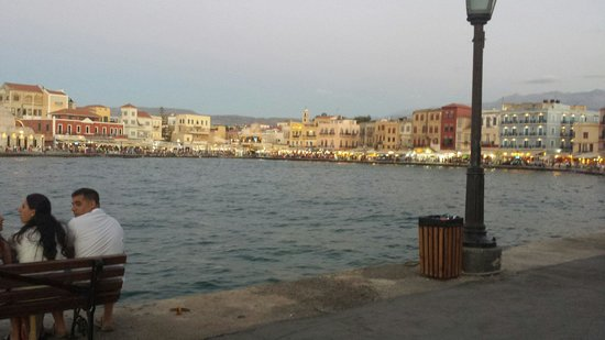 Merabello Apartments : View of chania port