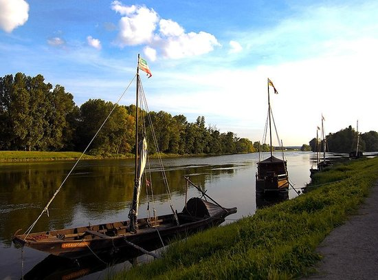 Escale de Loire : View of the river
