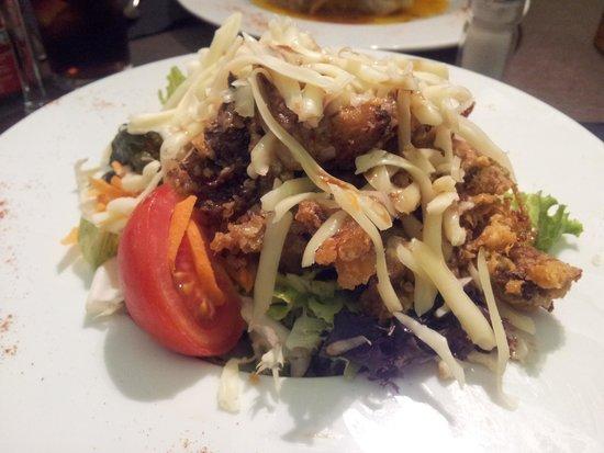 Canela Restaurant: ensalada cesar