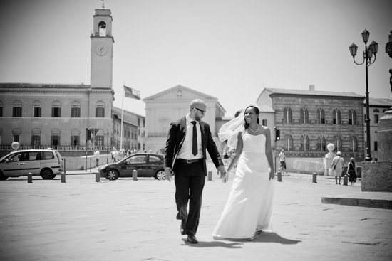 Hotel Pisa Tower : Our Wedding Day in Pisa