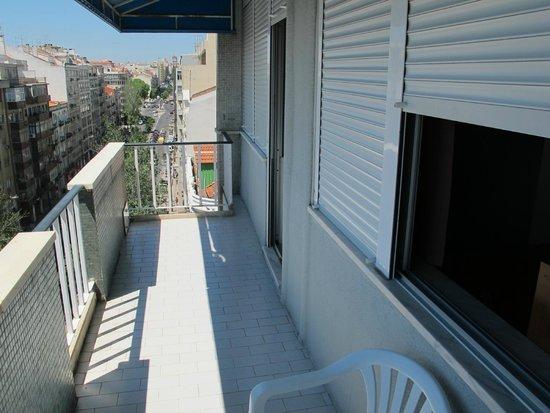 Residencial O Paradouro: balcony