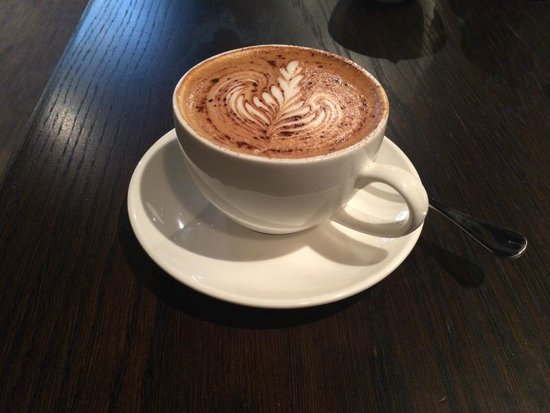 The Hoxton, Shoreditch : delicious cappucino