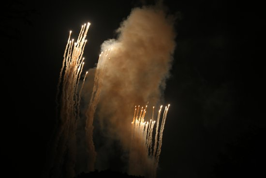 Residence Inn Anaheim Maingate: Disneyland Fireworks View From the Room