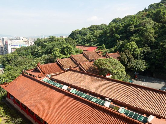 Grand Hotel Taipei : mid-day view from balcony