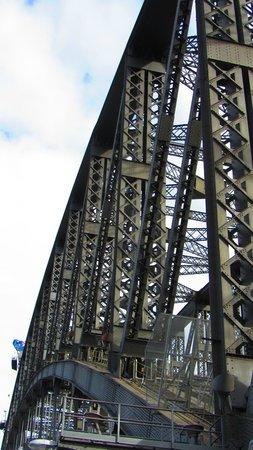 Harbour Bridge : Upclose of the bridge