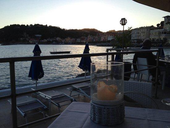 Cristobal Ristorante : Vista dal nostro tavolo..!!
