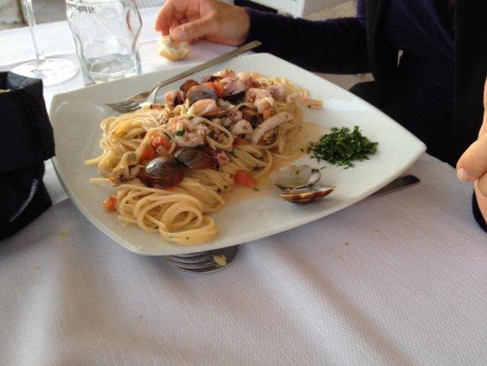 """Cristobal Ristorante : Spaghetti alla """"Cristobal""""..!!"""