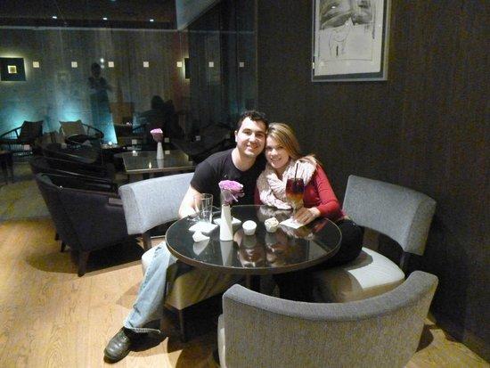 K+K Hotel Picasso : Copa de Bienvenida en el Restaurant