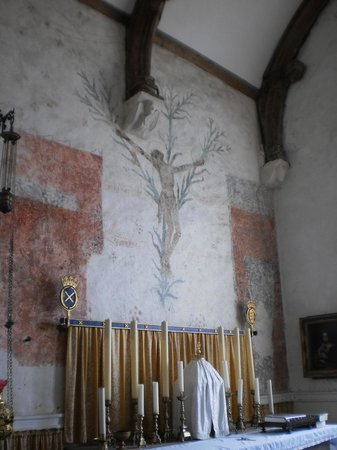 Godshill Church: Lily Crucifix