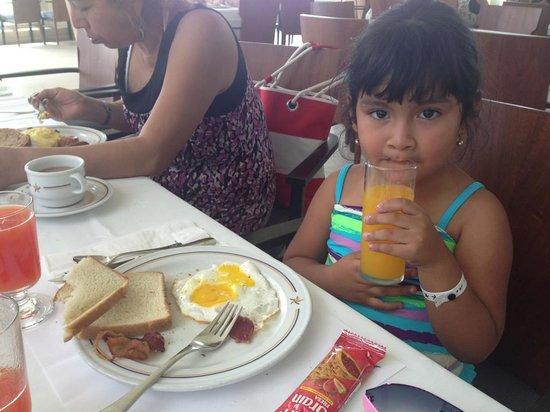 Iberostar Cancun: Desayuno