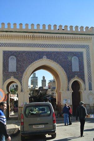 Medina of Fez: フェズの街の入り口