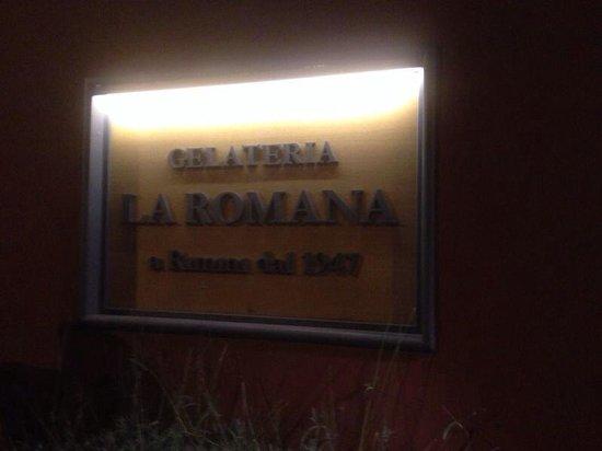 Gelateria La Romana: Entrance